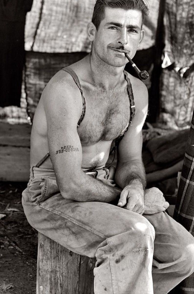 Lange, Unemployed lumber worker by Dorothea Lange 1939