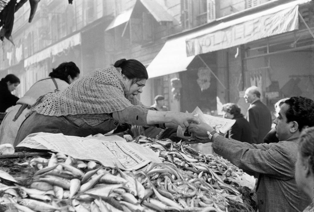 FRANCE. Bouches-du-Rhone. Marseille. 1954.