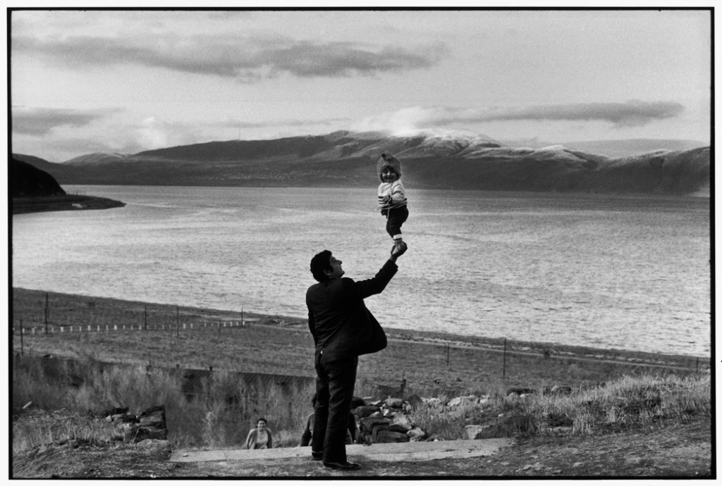 SOVIET UNION. Armenia. Visitors at village on the Lake Sevan. 1972.