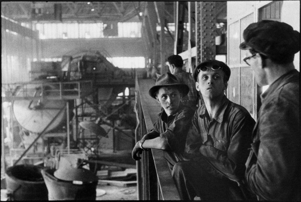 SWEDEN. Town of Kiruna. 1956. Iron mining.