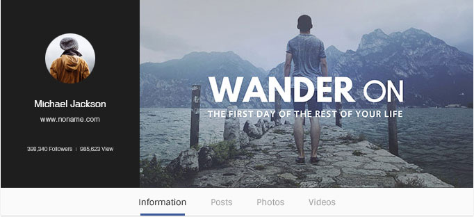 Google Plus Cover Maker - Facebook Cover Photo Design for free - facebook header template