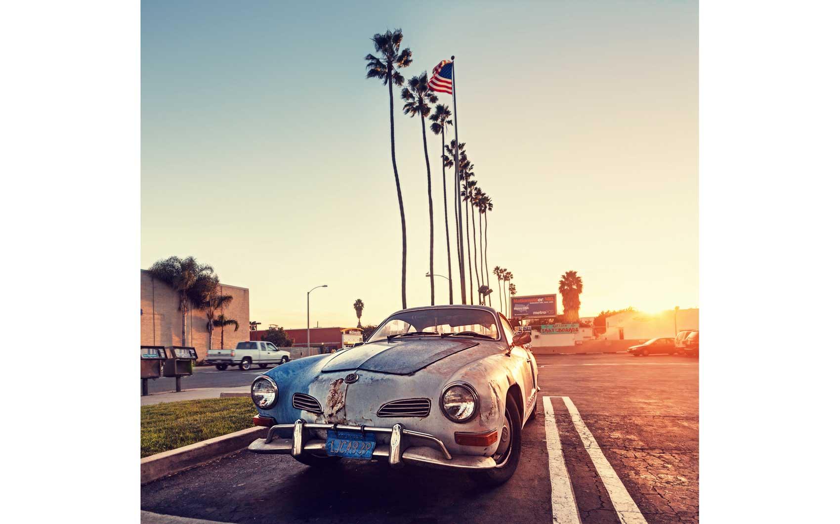 Vintage CAr. Los Angeles, CA