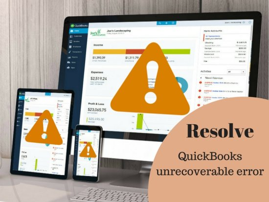 For fast and instant solution for QuickBooks unrecoverable error - Quickbooks Unrecoverable Error