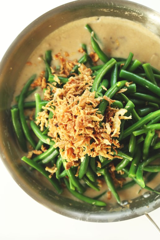 AMAZING-Green-Bean-Casserole-Vegan-30-minutes-and-10-ingredients-Creamy-flavorful-DELICIOUS