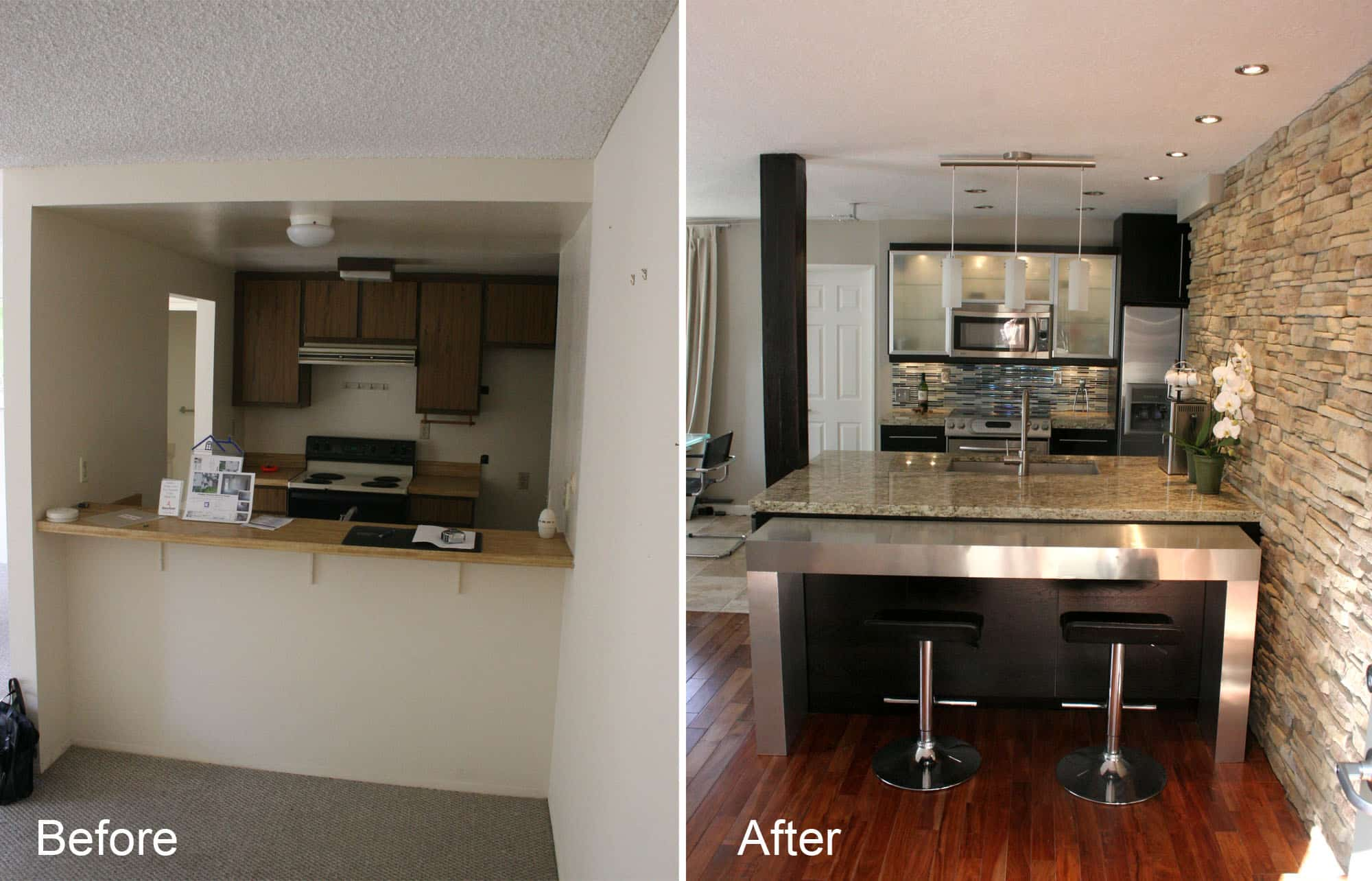 remodeling fix your foundation first how to remodel kitchen Small Kitchen Remodel Ideas Before And After