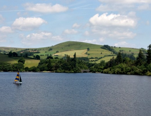 Wales Lake Country Green Hills