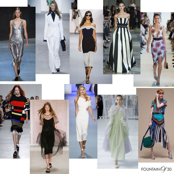 New York Fashion Week Spring 17 Top Spring '17 Top 10 Fashion Trends For Women Over 35
