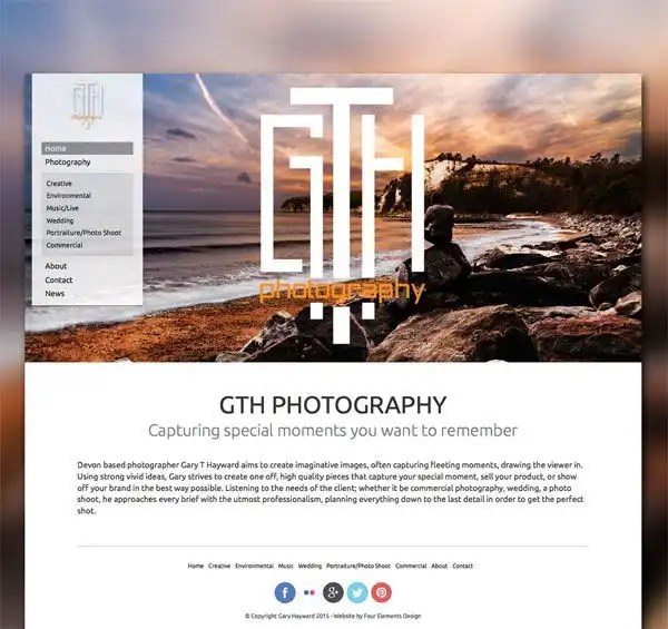 Devon photographer Gth