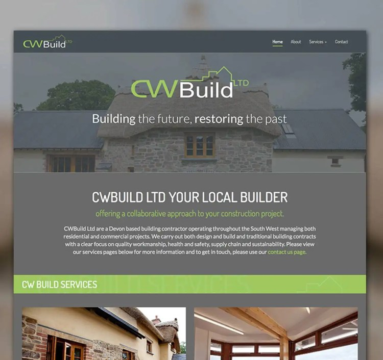 CW Build Web Design Devon