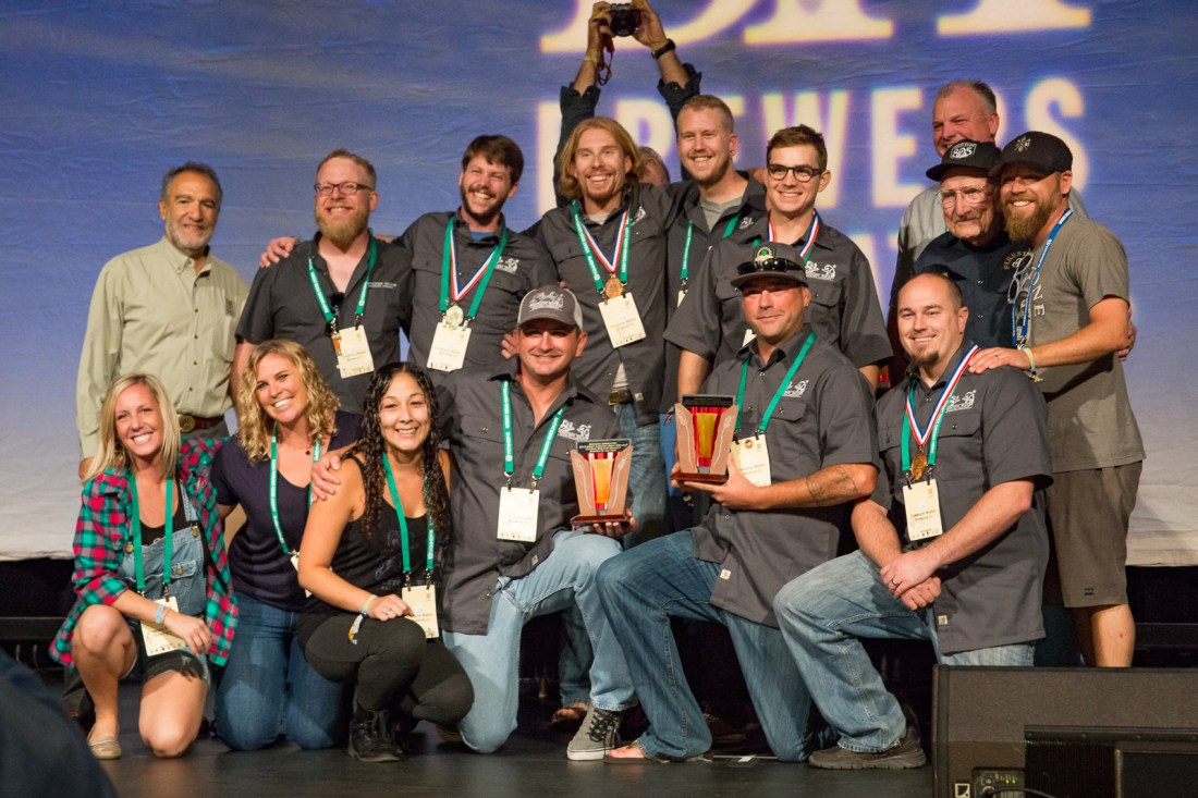 Firestone Walker Brewing Company at GABF 2015
