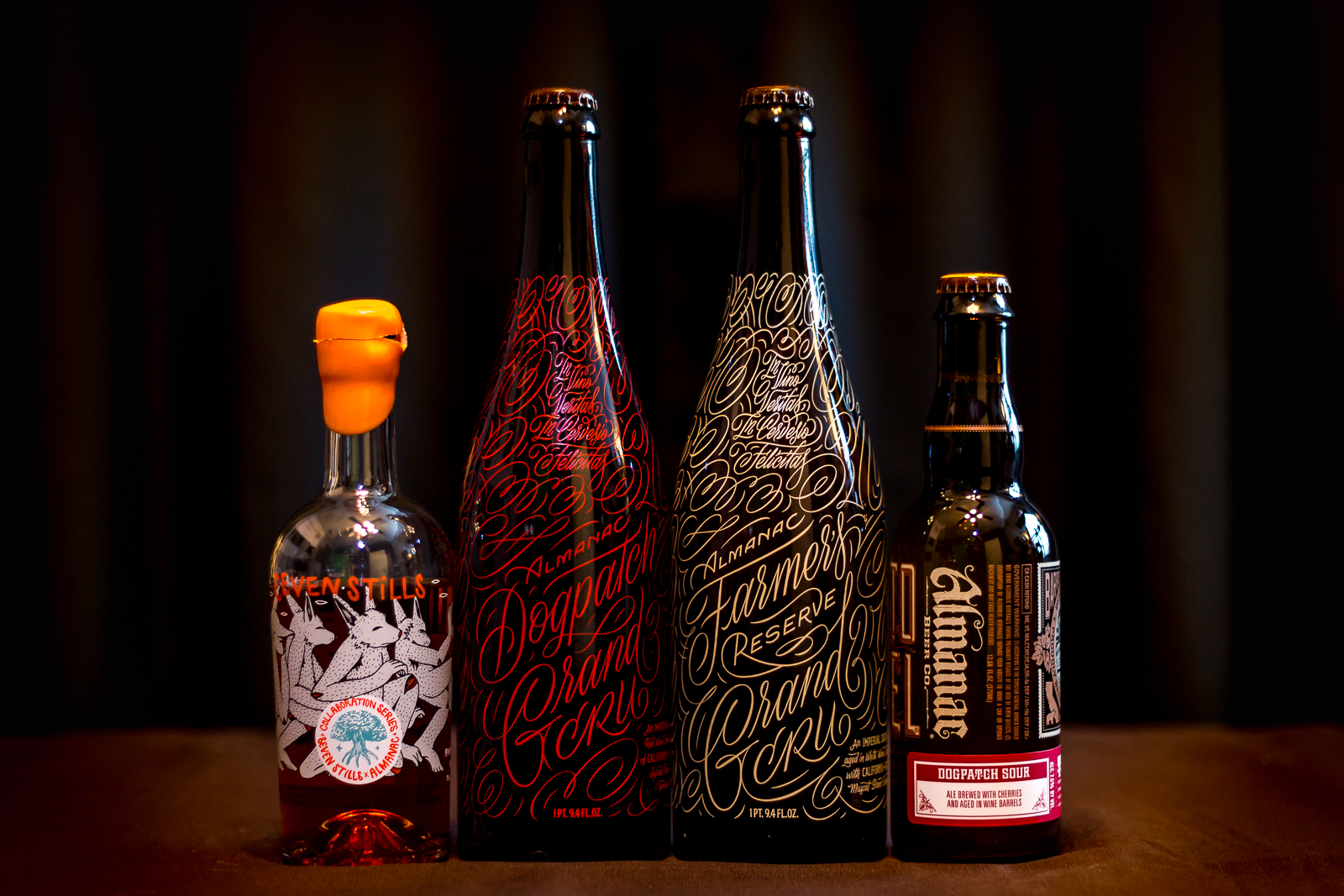 Almanac Beer Co. Beers with Seven Stills Dogpatch Whiskey