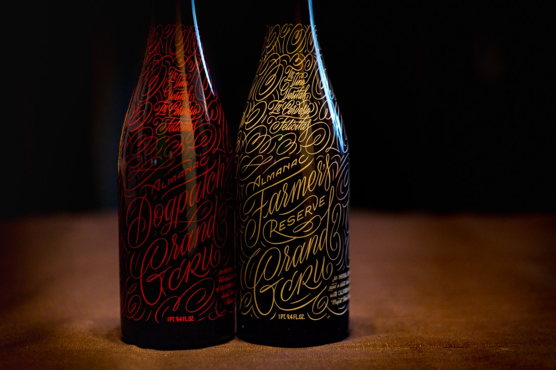 Almanac Beer Co. Dogpatch and Farmer's Reserve Grand Cru
