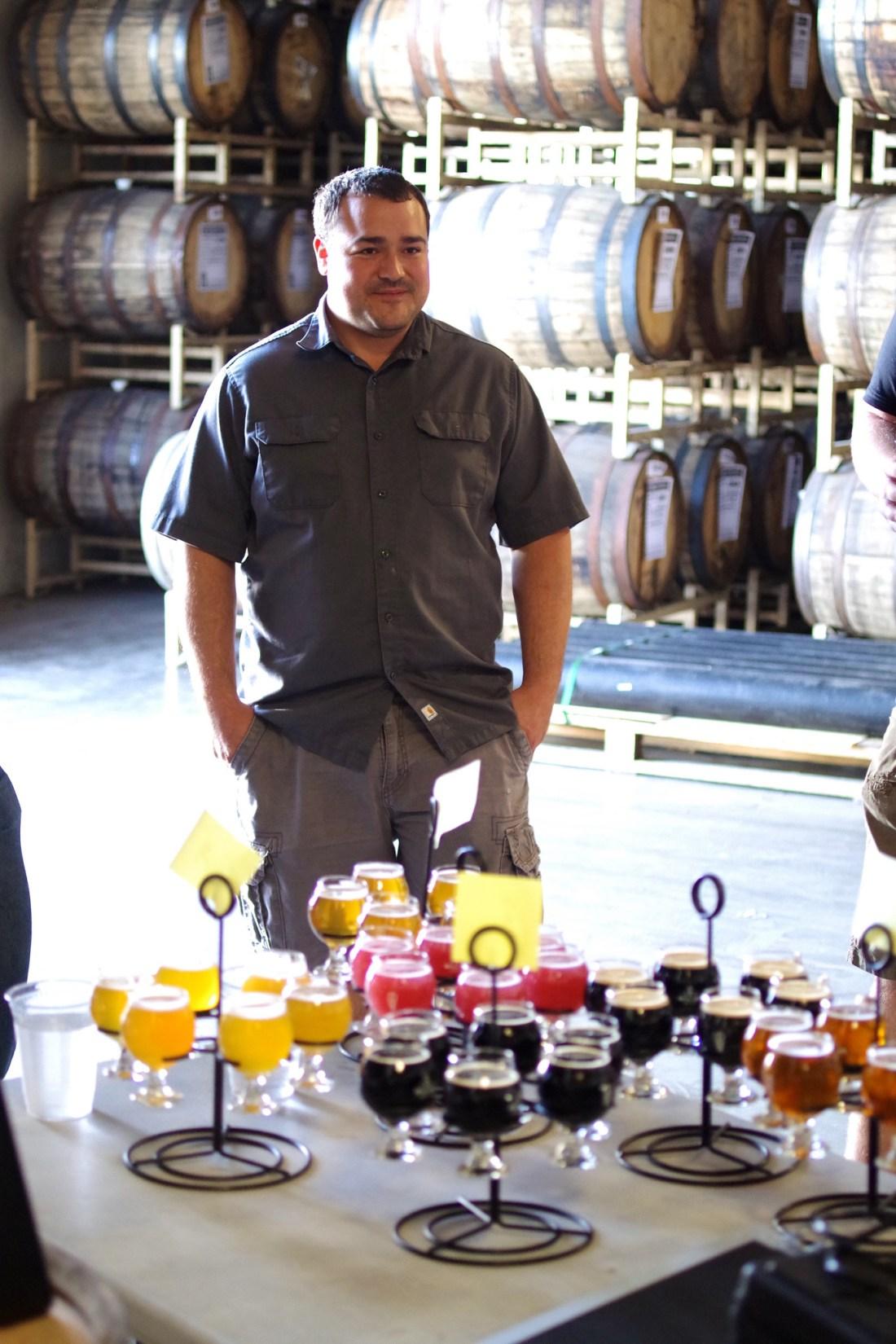 Wes Parker, Brewmaster at Bottle Logic