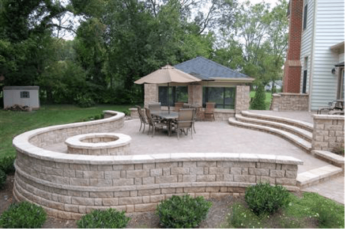 Stone Patio Designs Installation In Maryland Md