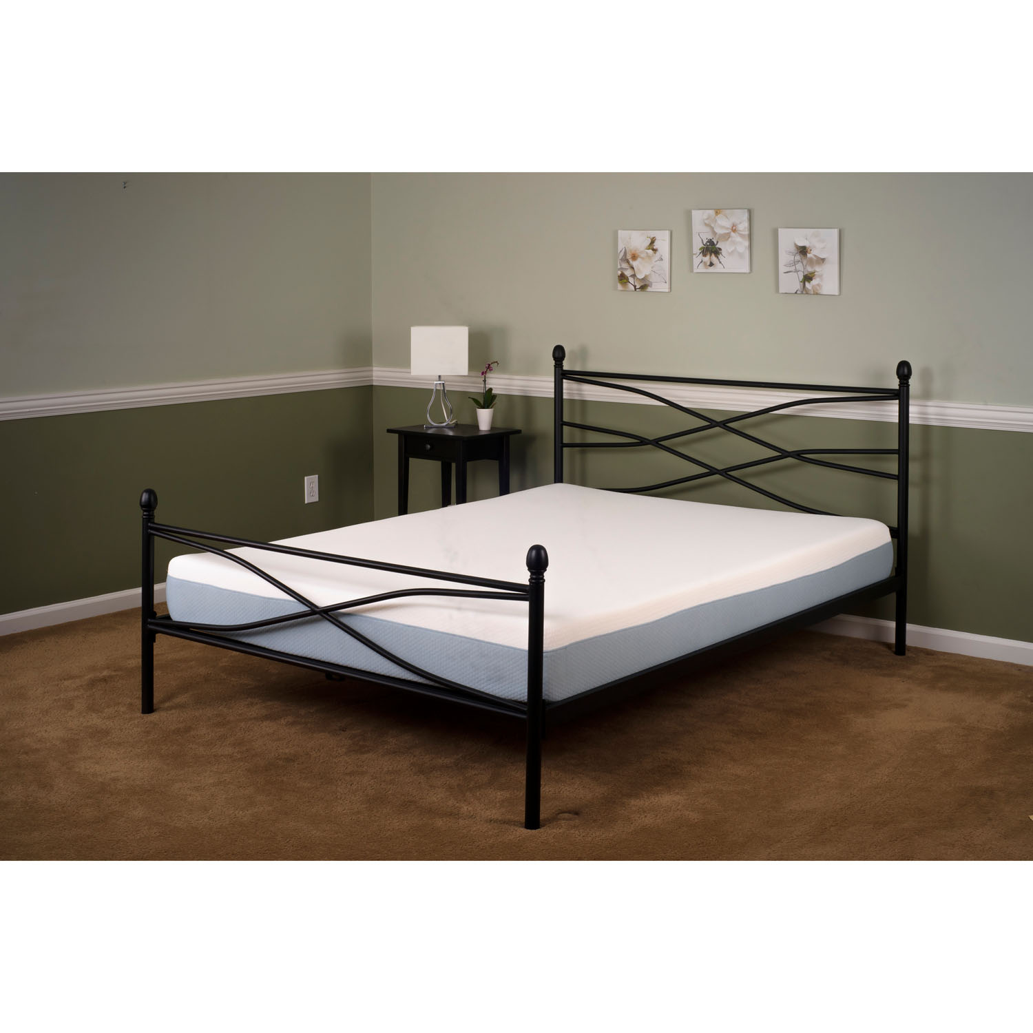 Soho Metal Queen Platform Bed Frame Hbedsoho Qn