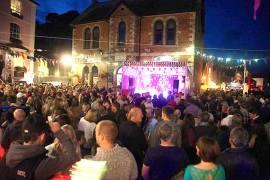 fowey regatta live music