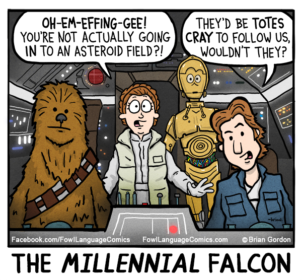 The Millennial Falcon