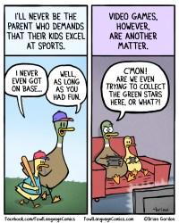 video game parent