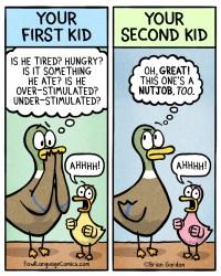 kid is nuts