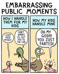 embarassing public moments