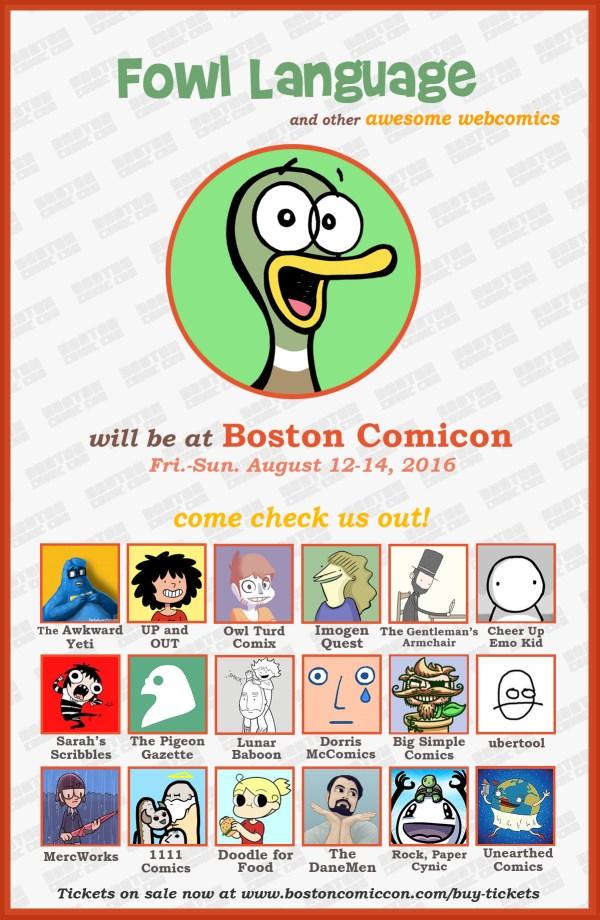 BostonComiconPoster with BRIAN