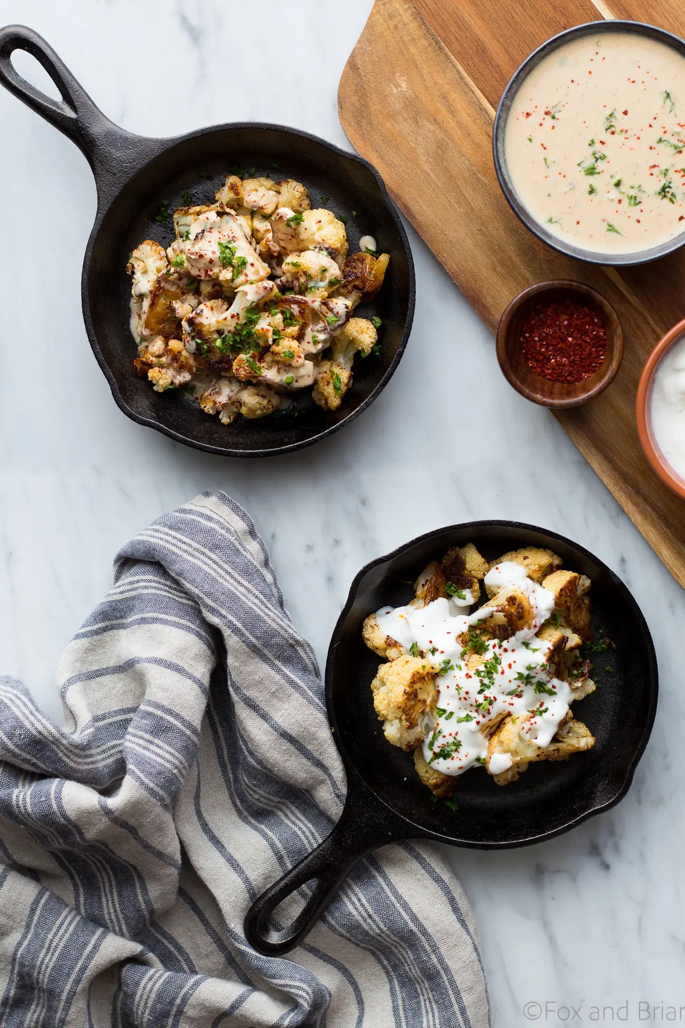... soy sauce recipes dishmaps pan fried cauliflower with yogurt and soy