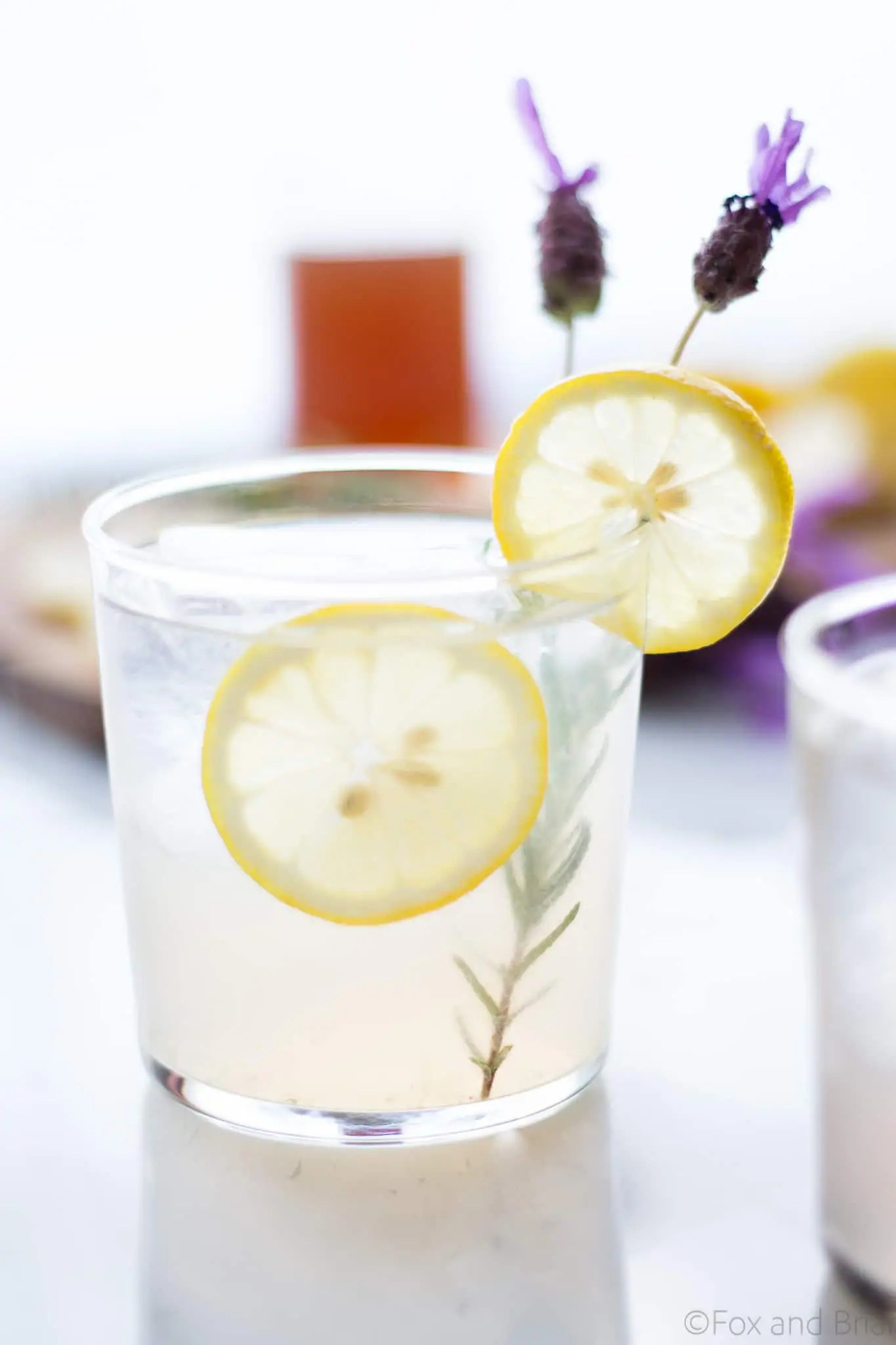 Lavender Meyer Lemon Tom Collins Cocktail Recipe — Dishmaps
