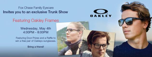 Fox Chase Family Eye Care Exclusive Trunk Show
