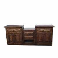 30 Beautiful Bathroom Vanities Reclaimed Wood | eyagci.com