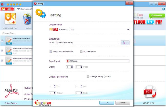 FoxPDF EML to PDF Converter, EML to PDF Converter, Convert EML to