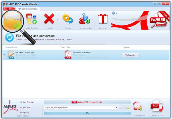How to convert IGS to PDF with FoxPDF PDF Converter? FoxPDF PDF - Convert File To Pdf