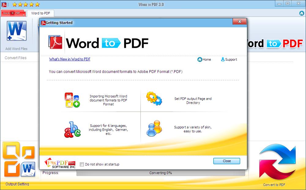 Microsoft Word to PDF, Microsoft Word to PDF Converter, Convert
