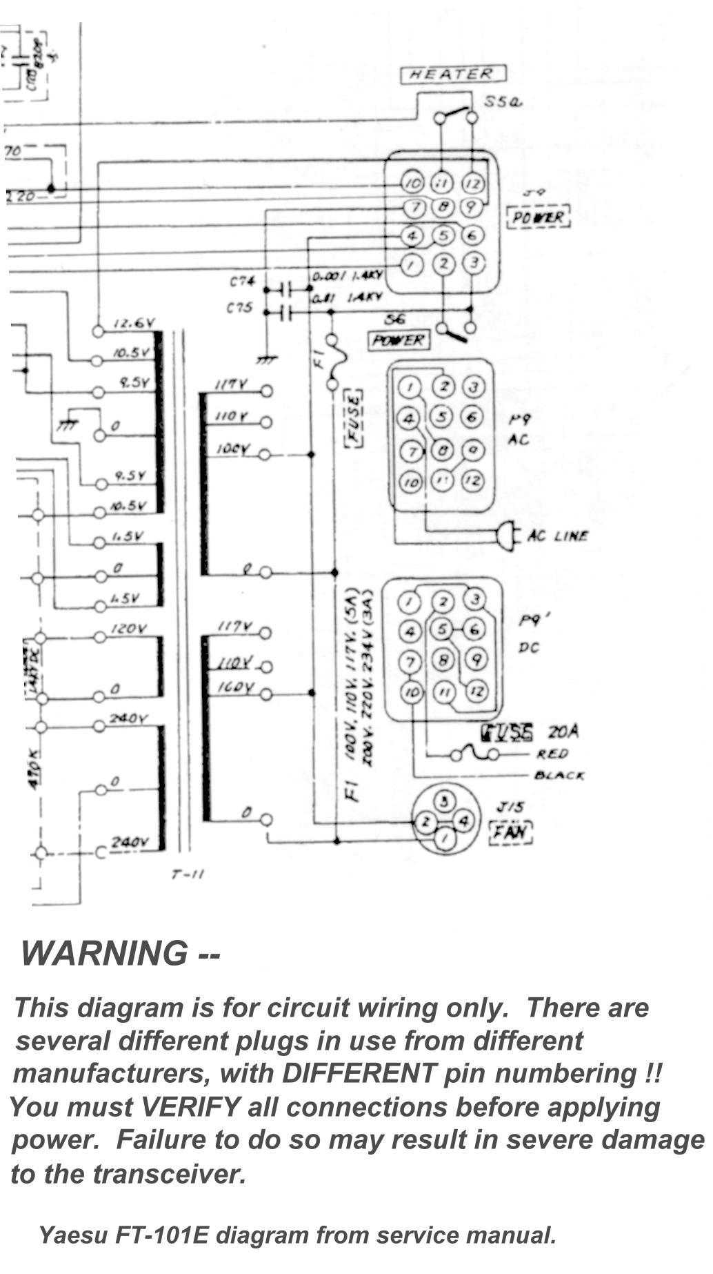 yaesu ft 1000 transceiver schematic diagram repair