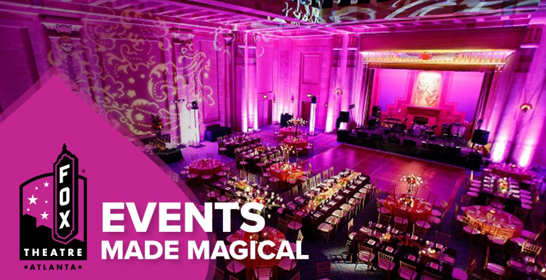 Private Event Rentals at the Fox Theatre Fox Theatre