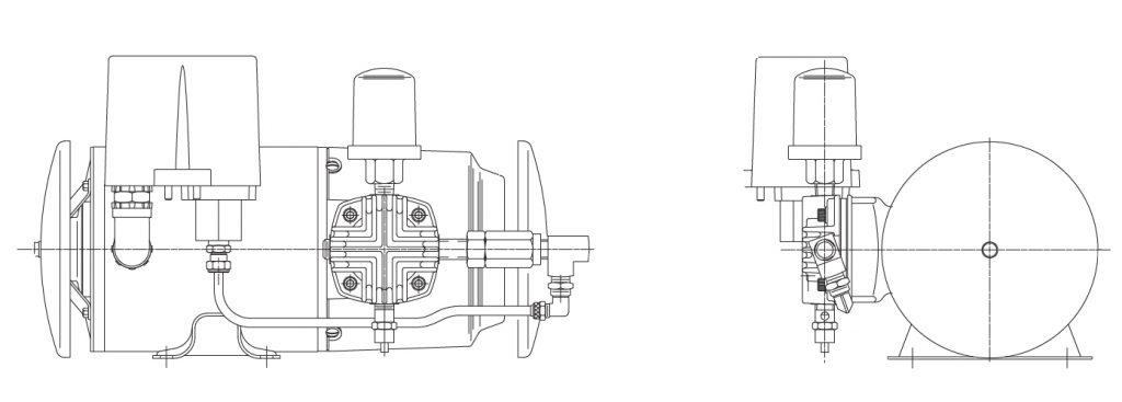 2 cycle piston install diagram