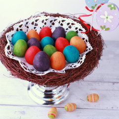 how to make easter egg made from marzipan