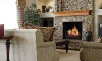 Napoleon Fiberglow GL30NE Vented Gas Log Set - Fireplace ...