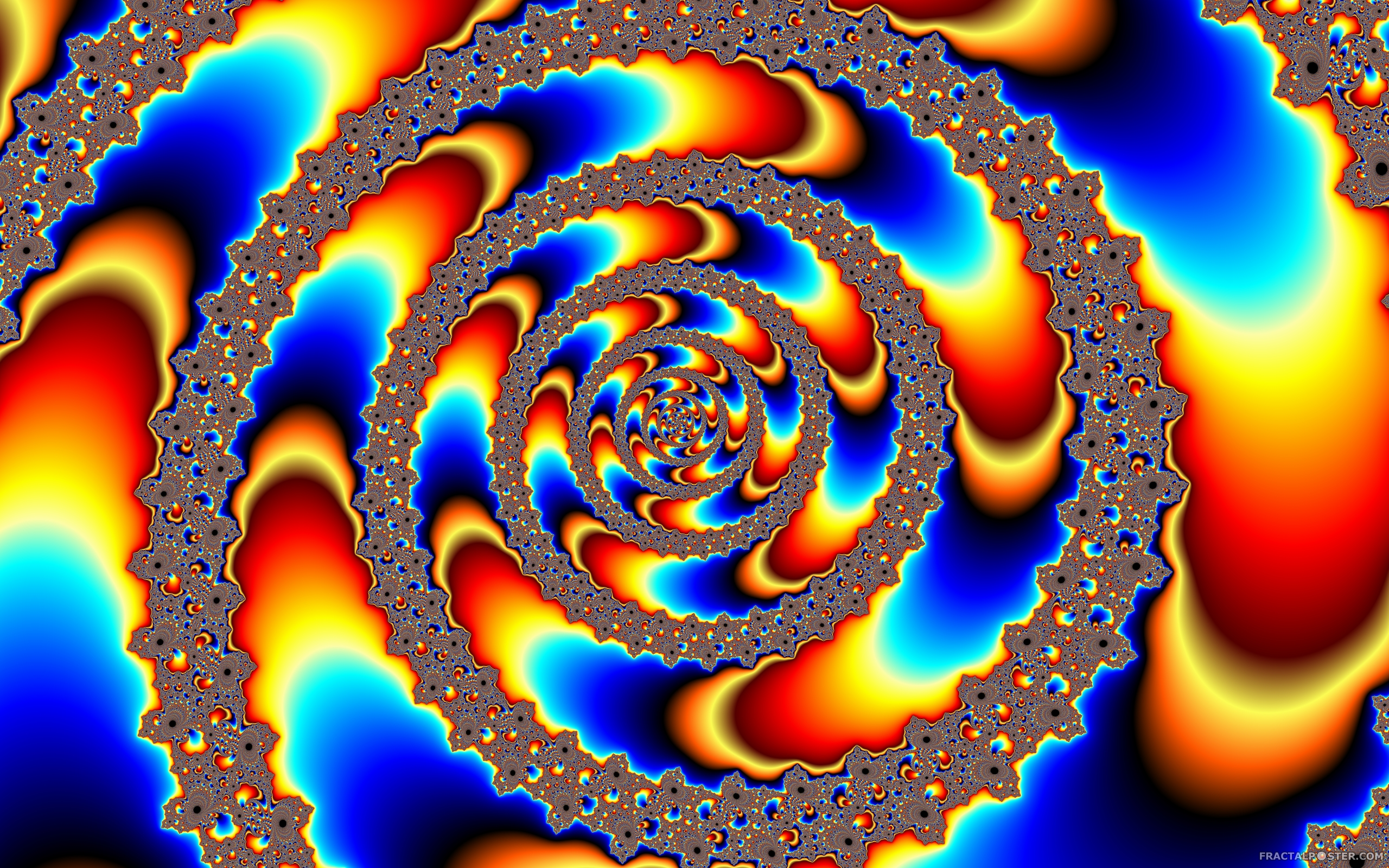 Psychedelic Wallpaper Hd Quot Hippie Quot Fractal Image By Dobbysgal Hd Wallpapers