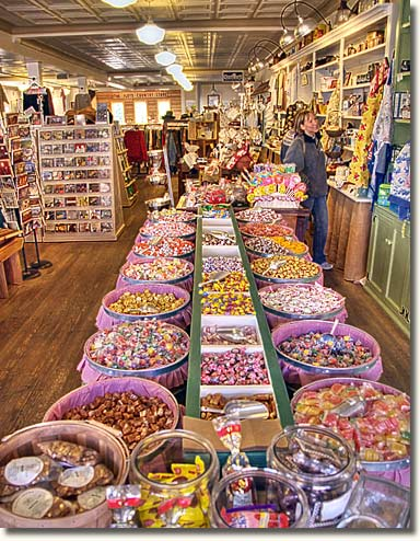 Floyd Country Store ~ the Candy Bins