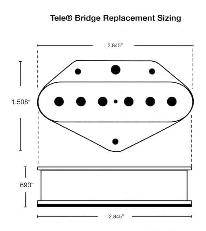 Fralin High Output Tele Pickups Loud  Thick Telecaster Replacements