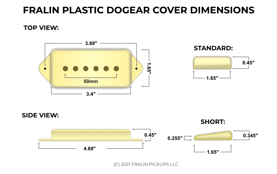 Fralin P90 Pickups Big, Bold P90 Tone - From Vintage to Modern