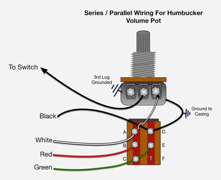 parallel humbucker wiring diagram