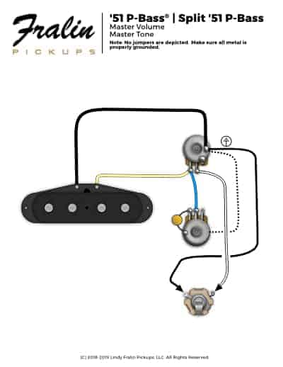 guitar pickup wiring grounding