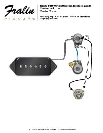 P90 Pickup Wiring Diagram Wiring Diagram