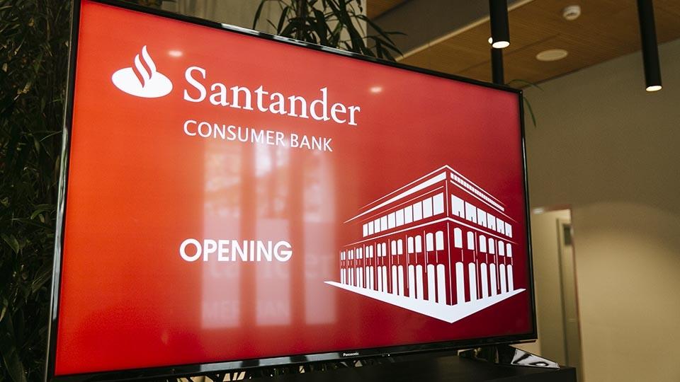 New Santander Consumer Bank headquarters - Frame Communication