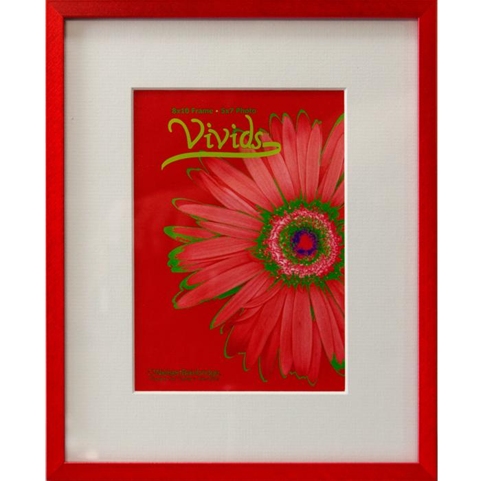 Red Metal Photo Frames - Picture Frame Ideas