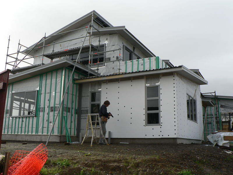 This is the second Frametek Steel Framed House the owner has built