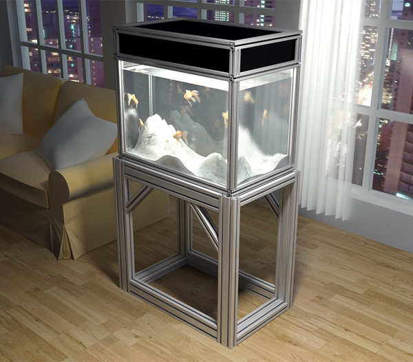 DIY Stand with the 80/20 aluminum   Reef Central Online Community