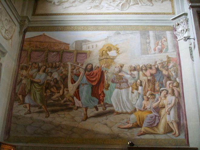 Ademollo Luigi: L'arca santa