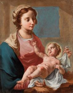 Angeli Giuseppe - Madonna col Bambino